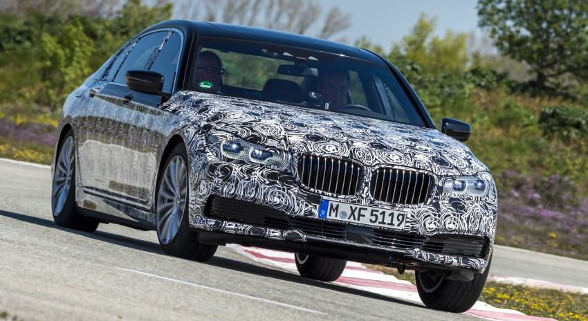 2016 BMW 7 Series G11/G12 – first details released Image #329939