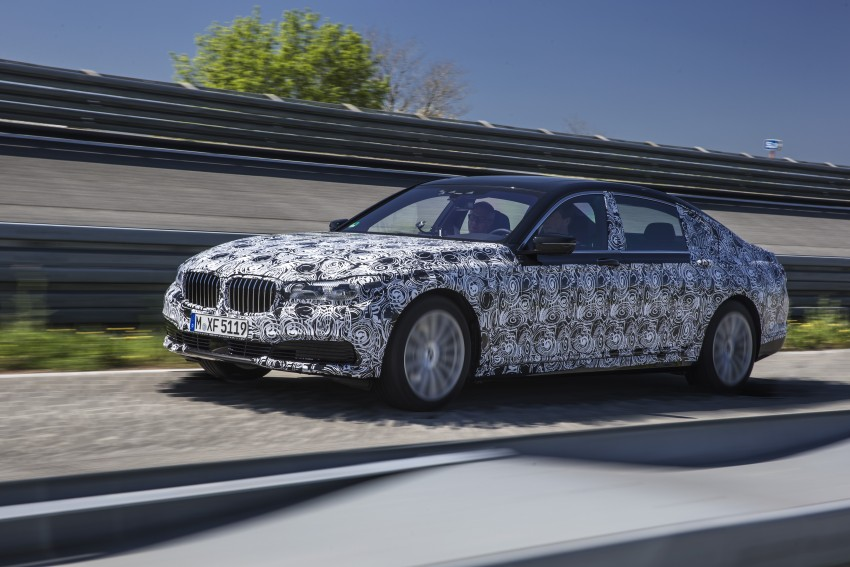 2016 BMW 7 Series G11/G12 – first details released Image #329951