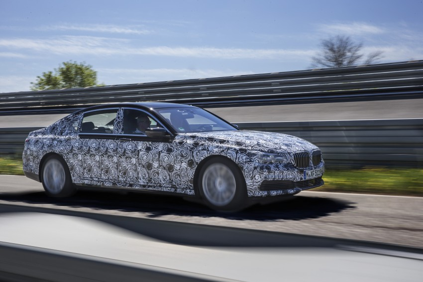 2016 BMW 7 Series G11/G12 – first details released Image #329953