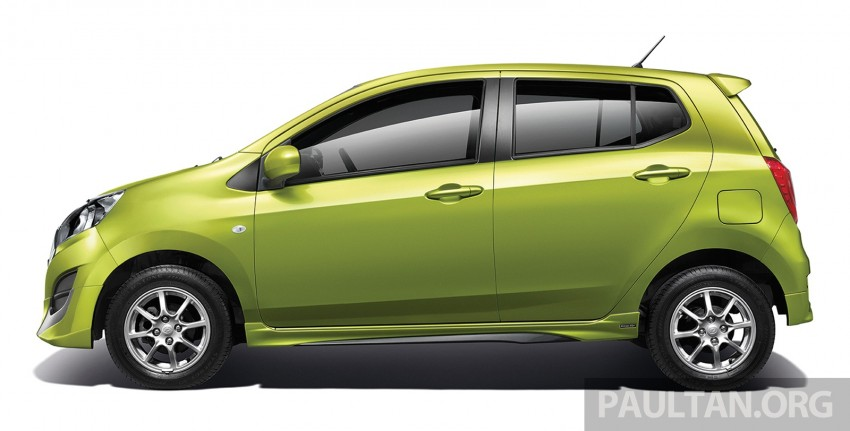 Perodua launches GearUp bodykit and accessories for both Axia faces, Standard and SE – Myvi next month Image #328478