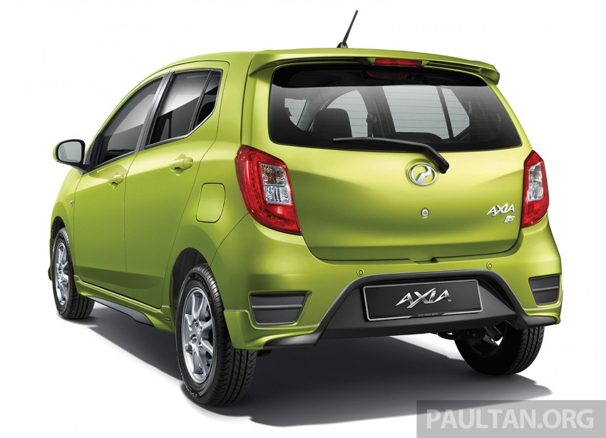 Perodua launches GearUp bodykit and accessories for both Axia faces, Standard and SE – Myvi next month Image #328480