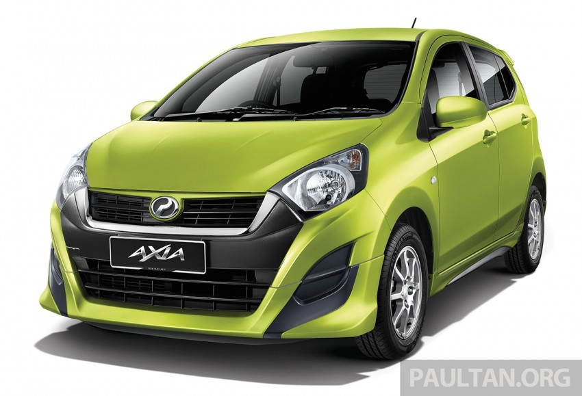 Perodua launches GearUp bodykit and accessories for both Axia faces, Standard and SE – Myvi next month Image #328482
