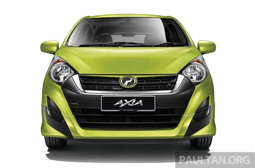 Perodua launches GearUp bodykit and accessories for both Axia faces, Standard and SE – Myvi next month Image #328485