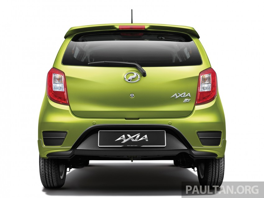 Perodua launches GearUp bodykit and accessories for both Axia faces, Standard and SE – Myvi next month Image #328488