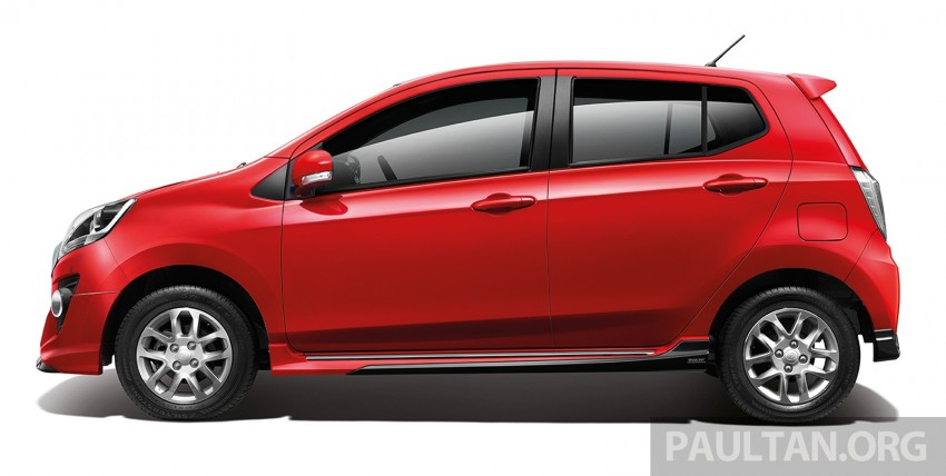 Perodua launches GearUp bodykit and accessories for both Axia faces, Standard and SE – Myvi next month Image #328467