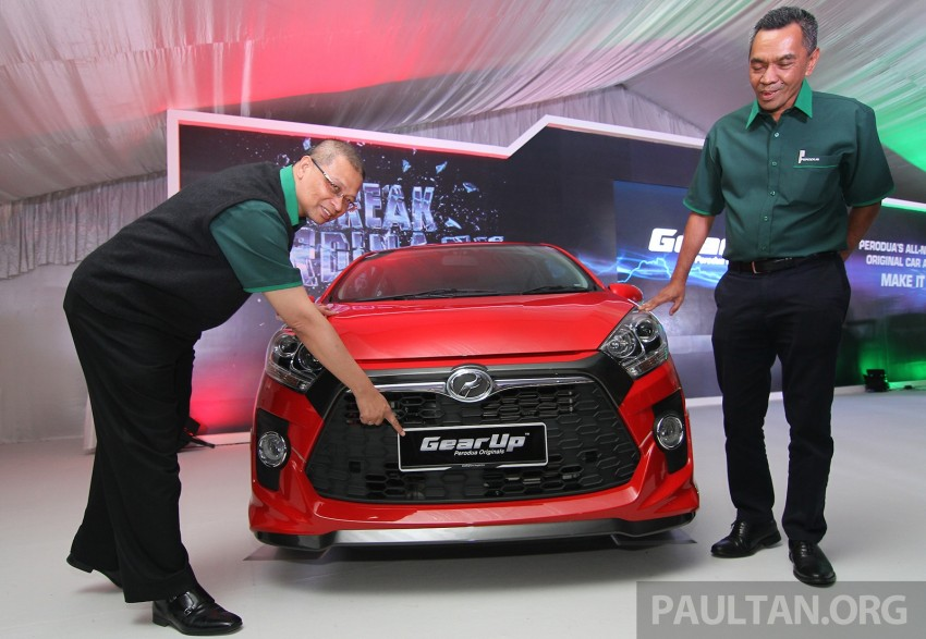 Perodua launches GearUp bodykit and accessories for both Axia faces, Standard and SE – Myvi next month Image #328501