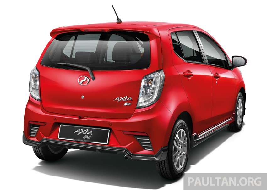 Perodua launches GearUp bodykit and accessories for both Axia faces, Standard and SE – Myvi next month Image #328468