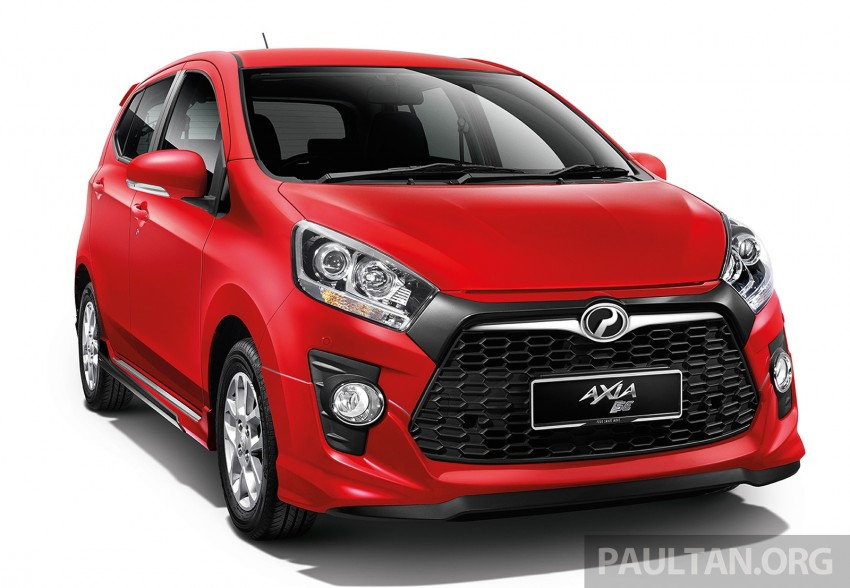 Perodua launches GearUp bodykit and accessories for both Axia faces, Standard and SE – Myvi next month Image #328470