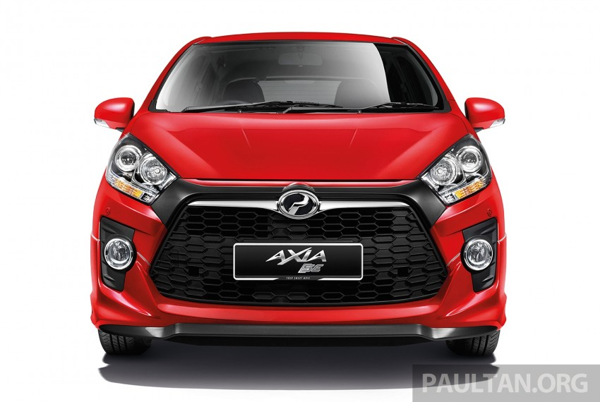 Perodua launches GearUp bodykit and accessories for both Axia faces, Standard and SE – Myvi next month Image #328471