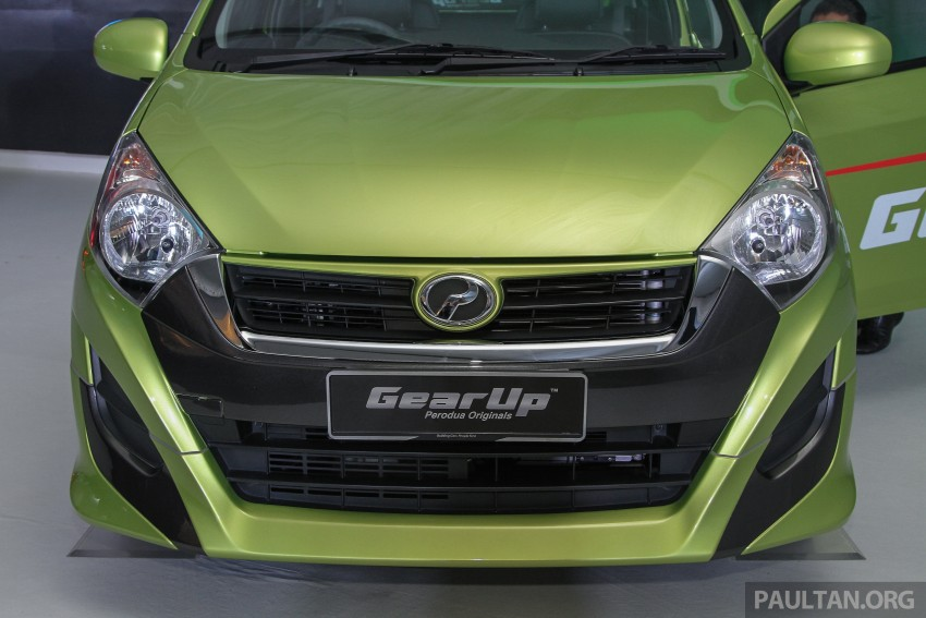 Perodua launches GearUp bodykit and accessories for both Axia faces, Standard and SE – Myvi next month Image #328605