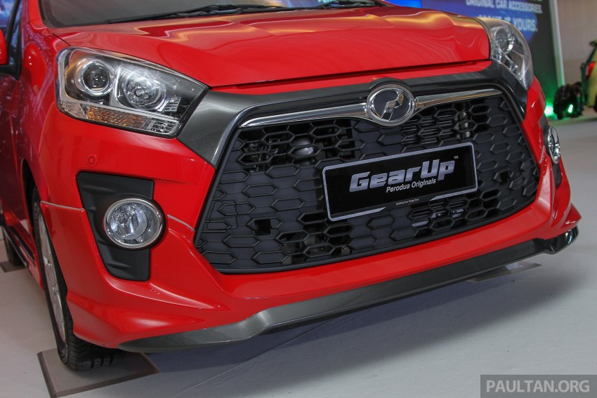 Perodua launches GearUp bodykit and accessories for both Axia faces, Standard and SE – Myvi next month Image #328629