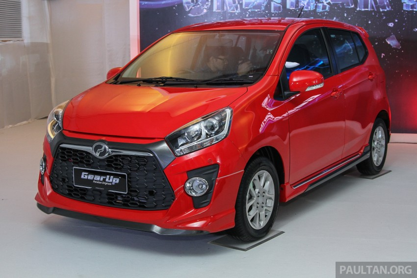 Perodua launches GearUp bodykit and accessories for both Axia faces, Standard and SE – Myvi next month Image #328651