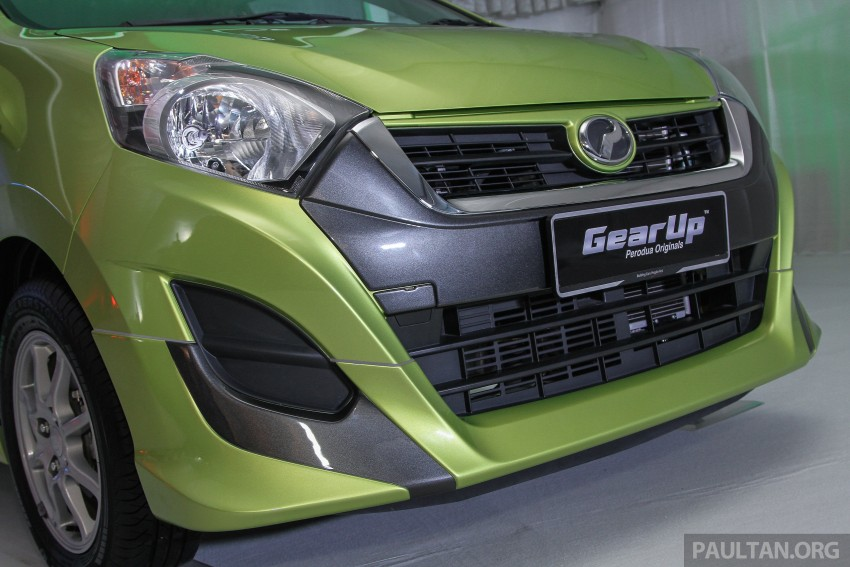 Perodua launches GearUp bodykit and accessories for both Axia faces, Standard and SE – Myvi next month Image #328609