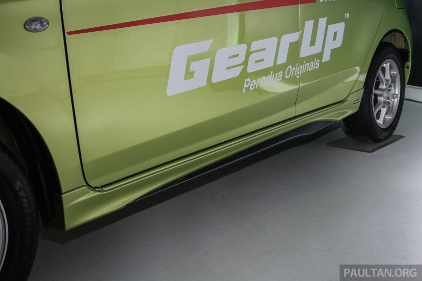 Perodua launches GearUp bodykit and accessories for both Axia faces, Standard and SE – Myvi next month Image #328611