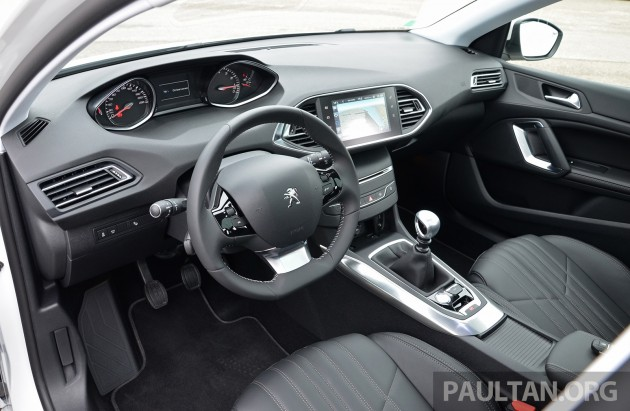 Peugeot 308 Intl Test Drive 25