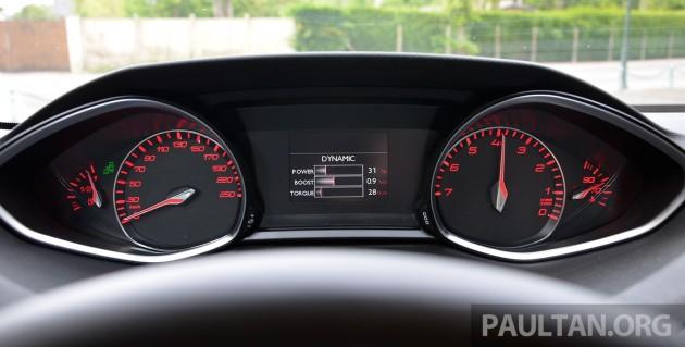Peugeot 308 Intl Test Drive 42