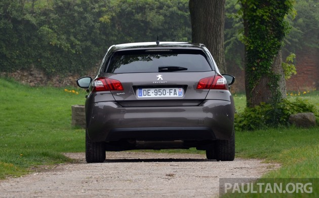 Peugeot 308 Intl Test Drive 6