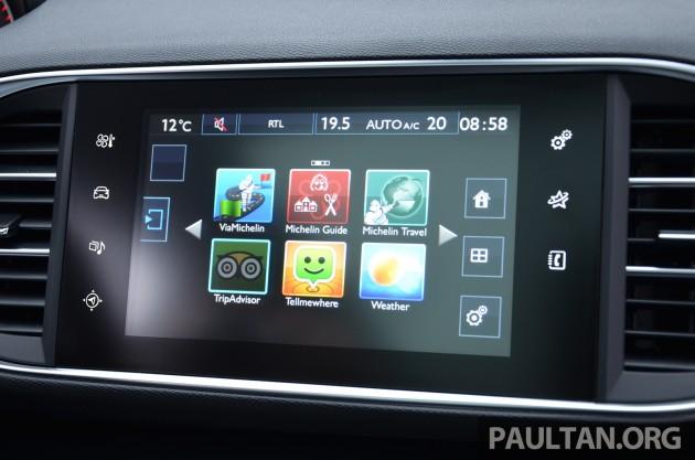 Peugeot 308 Intl Test Drive 62