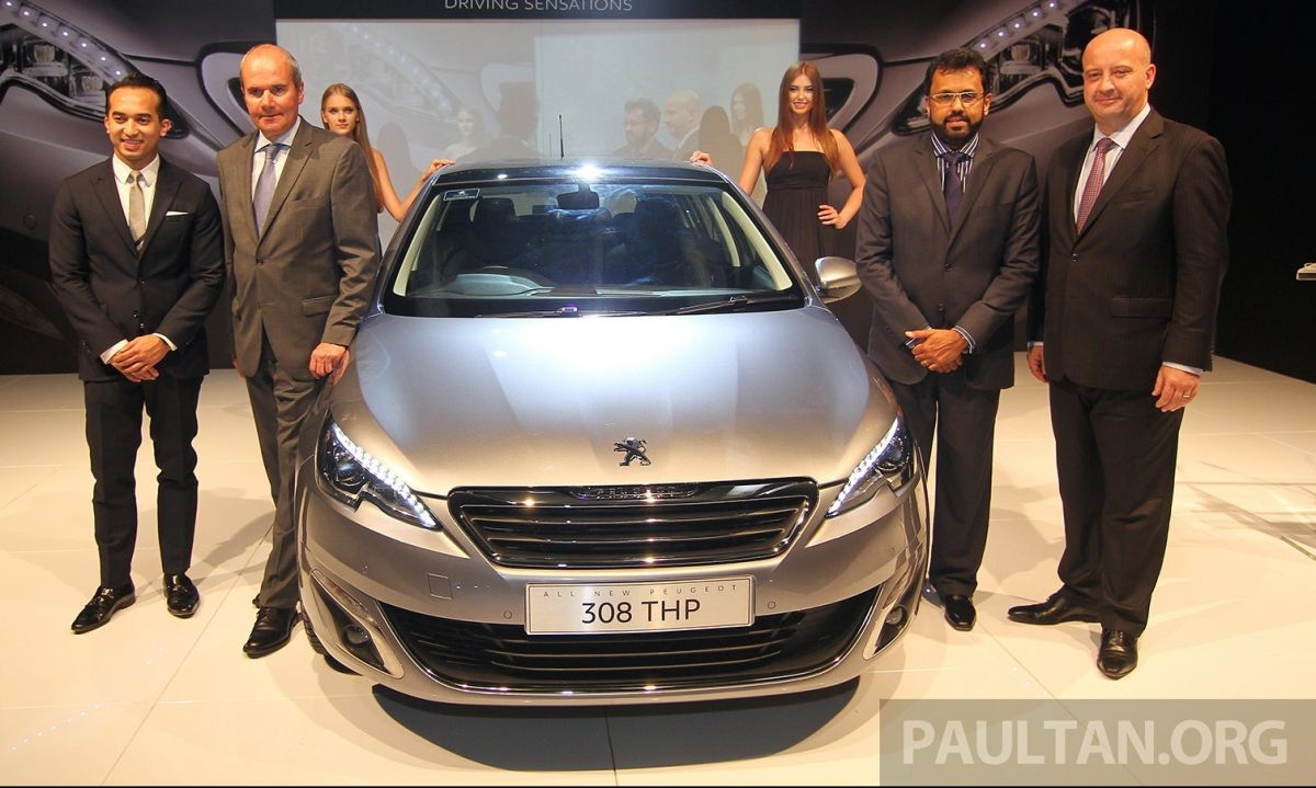 Peugeot 308 THP launched in Malaysia - RM132,888 - paultan.org