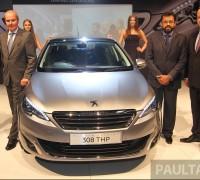 Peugeot 308 Launch