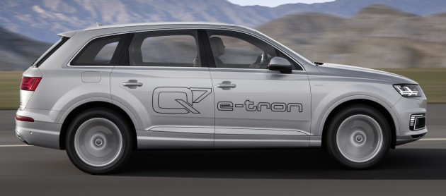 Audi Q7 e-tron 2.0 TFSI quattro (Angebot im chinesischen Markt)