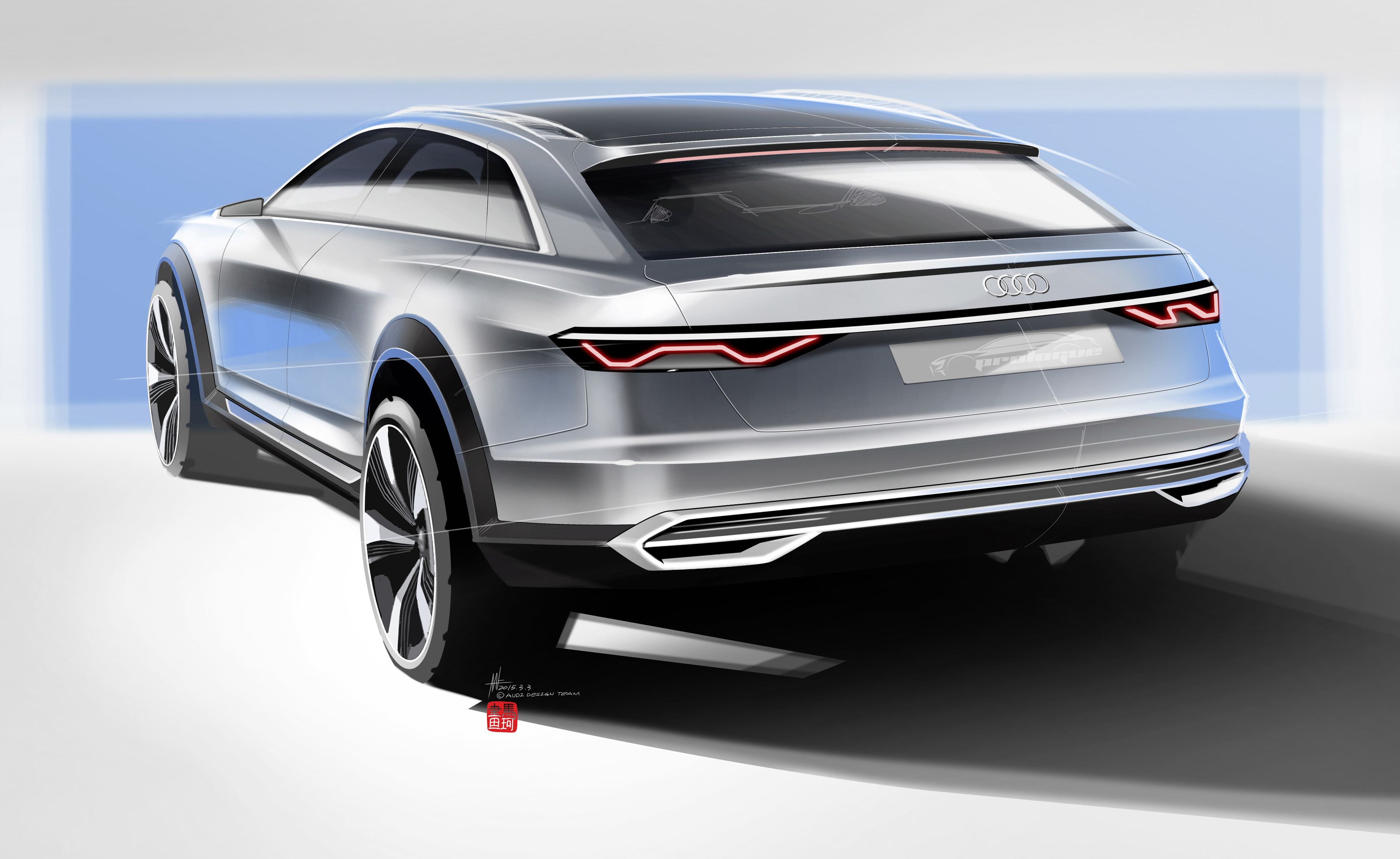Audi Prologue Allroad Concept Revealed With 734 Hp Paul