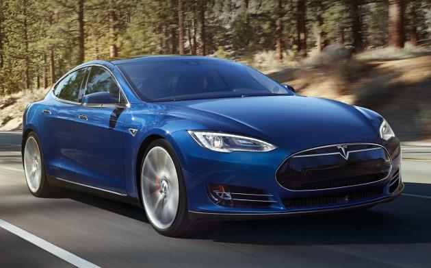 Tesla-Model-S-Blue