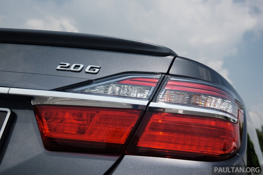 DRIVEN: 2015 Toyota Camry 2.0G and 2.5 Hybrid previewed – return to D-segment competitiveness? Image #324082
