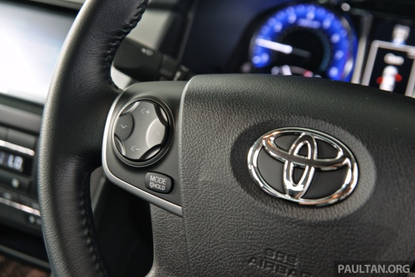DRIVEN: 2015 Toyota Camry 2.0G and 2.5 Hybrid previewed – return to D-segment competitiveness? Image #324085