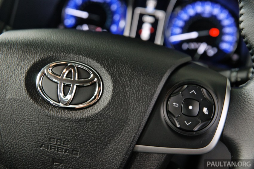 DRIVEN: 2015 Toyota Camry 2.0G and 2.5 Hybrid previewed – return to D-segment competitiveness? Image #324086