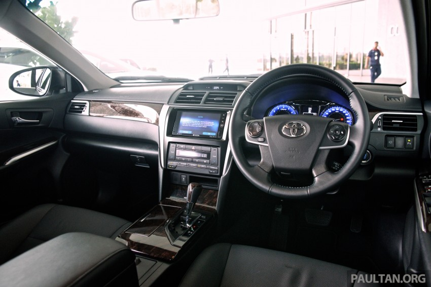 DRIVEN: 2015 Toyota Camry 2.0G and 2.5 Hybrid previewed – return to D-segment competitiveness? Image #324095