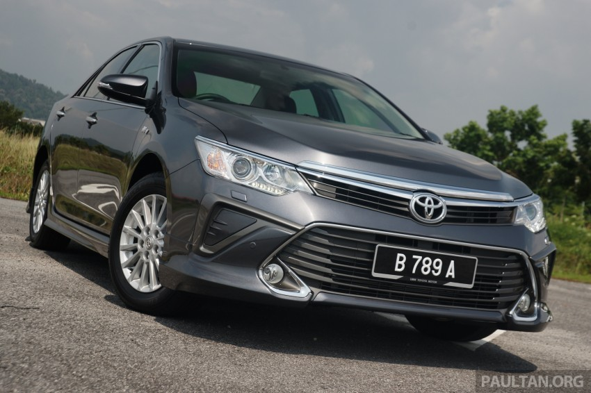 2015 Toyota Camry launched in Malaysia – new 6-spd 2.0E RM150k, 2.0G RM160k, 2.5 Hybrid RM175k Image #324090