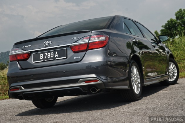 DRIVEN 2015 Toyota Camry facelift previewed