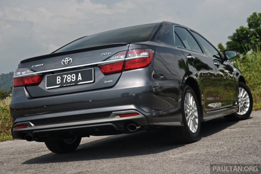 2015 Toyota Camry launched in Malaysia – new 6-spd 2.0E RM150k, 2.0G RM160k, 2.5 Hybrid RM175k Image #324102