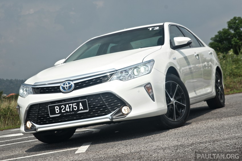 2015 Toyota Camry launched in Malaysia – new 6-spd 2.0E RM150k, 2.0G RM160k, 2.5 Hybrid RM175k Image #324194