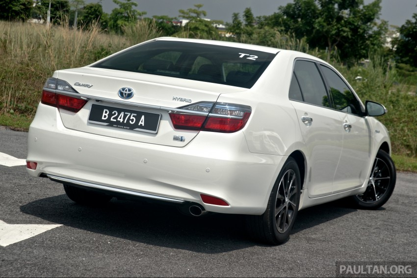DRIVEN: 2015 Toyota Camry 2.0G and 2.5 Hybrid previewed – return to D-segment competitiveness? Image #324136