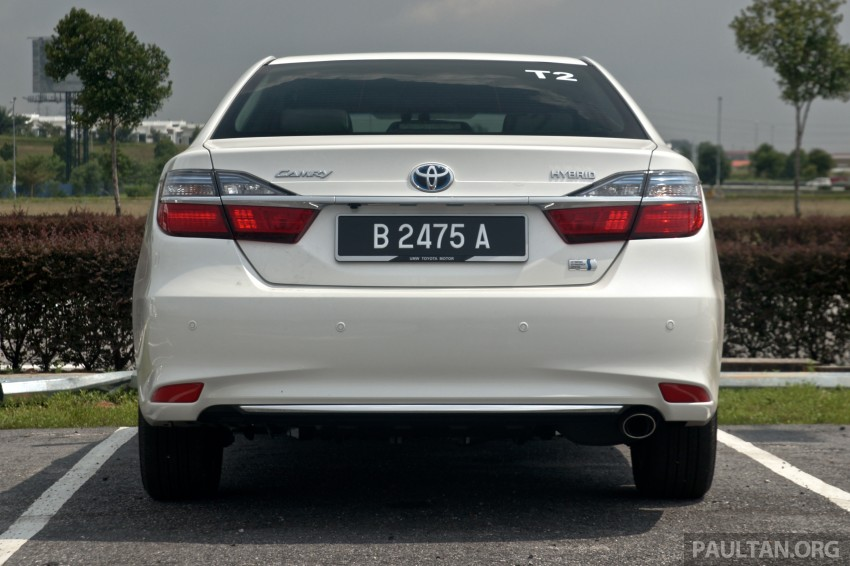 2015 Toyota Camry launched in Malaysia – new 6-spd 2.0E RM150k, 2.0G RM160k, 2.5 Hybrid RM175k Image #324196