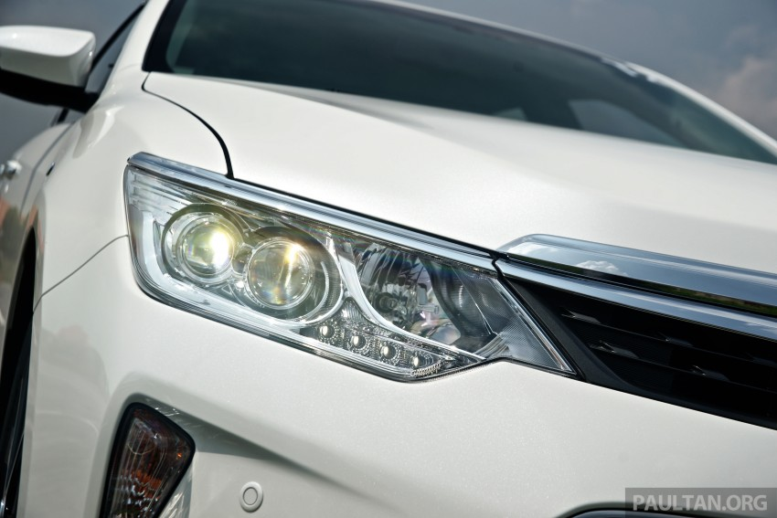 DRIVEN: 2015 Toyota Camry 2.0G and 2.5 Hybrid previewed – return to D-segment competitiveness? Image #324138