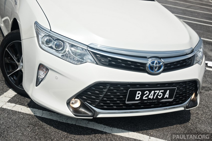 2015 Toyota Camry launched in Malaysia – new 6-spd 2.0E RM150k, 2.0G RM160k, 2.5 Hybrid RM175k Image #324200