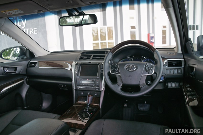DRIVEN: 2015 Toyota Camry 2.0G and 2.5 Hybrid previewed – return to D-segment competitiveness? Image #324150