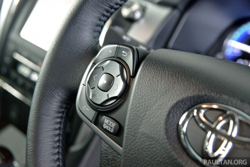 DRIVEN: 2015 Toyota Camry 2.0G and 2.5 Hybrid previewed – return to D-segment competitiveness? Image #324170