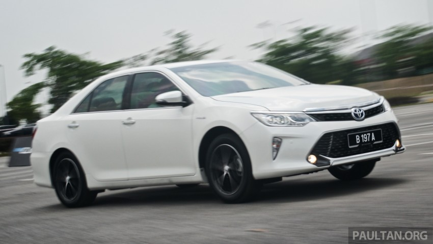 DRIVEN: 2015 Toyota Camry 2.0G and 2.5 Hybrid previewed – return to D-segment competitiveness? Image #324128