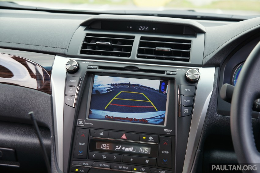 DRIVEN: 2015 Toyota Camry 2.0G and 2.5 Hybrid previewed – return to D-segment competitiveness? Image #324132