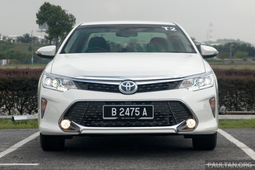 2015 Toyota Camry launched in Malaysia – new 6-spd 2.0E RM150k, 2.0G RM160k, 2.5 Hybrid RM175k Image #324192
