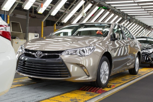 Toyota Camry facelift Australia 4