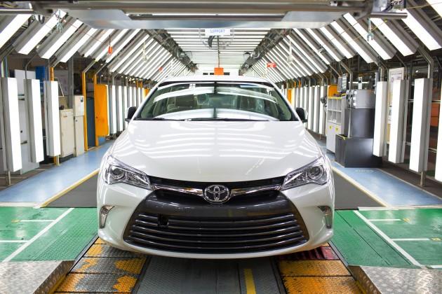 Toyota Camry facelift Australia