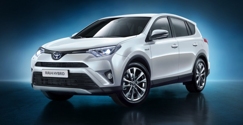 2016 Toyota RAV4 Hybrid, facelift make NY debut Image #325369