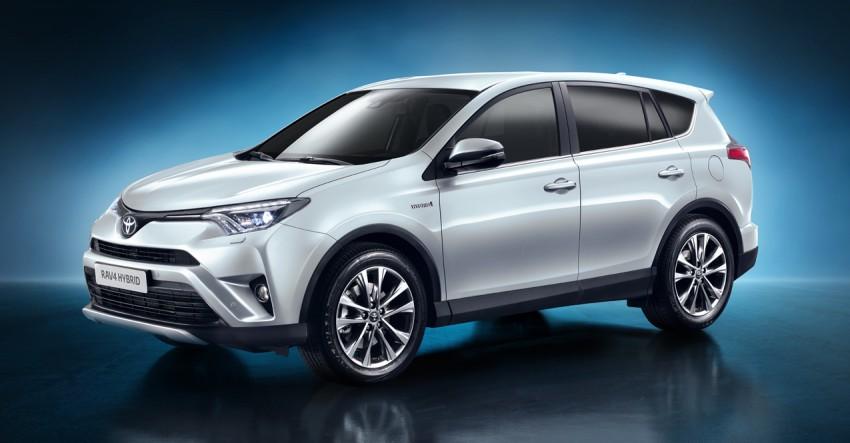 2016 Toyota RAV4 Hybrid, facelift make NY debut Image #325368