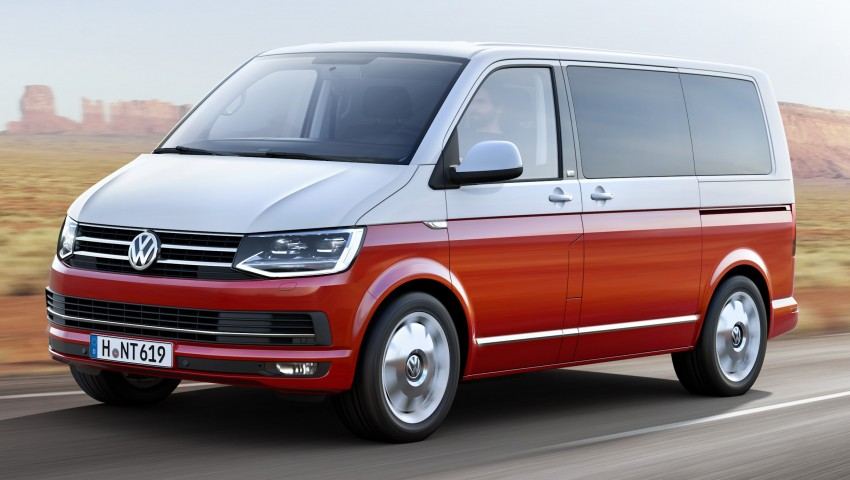 Volkswagen Transporter T6 – new-gen van unveiled Image #331503