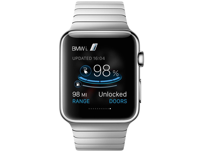Beautiful BMW I Remote App  BMW I3 I8 Info On Apple Watch Image 333338